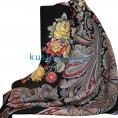 Женские валенки под павлопосадский платок