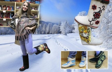 Ярким дизайнерским работам «Кусиночки» позавидуют многие обувные компании.